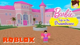playing Roblox Tour of the Mansion of Barbie - Ken and trying clothes - Titi Games pool house