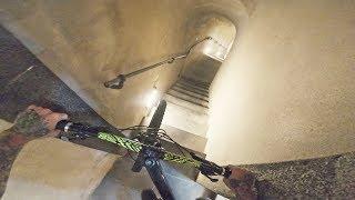 Urban Freeride in Koblenz - Enger Treppen Downhill und MTB Street | Fabio Schäfer Vlog #164