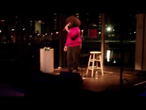 Reggie Watts live at ICA Boston