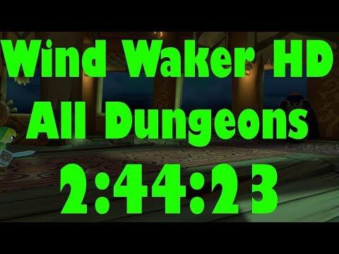 Wind Waker HD All Dungeons Speedrun in 2:44:23[World Record]
