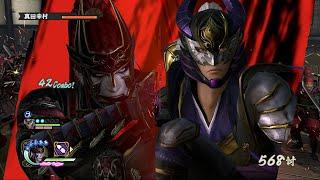 Sengoku Musou 4 II (Samurai Warriors 4 II) - Kotaro Fuma + Hanzo Hattori Gameplay (Hell Difficulty)