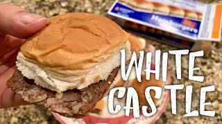 Making White Castle Hamburger Sliders at Home
