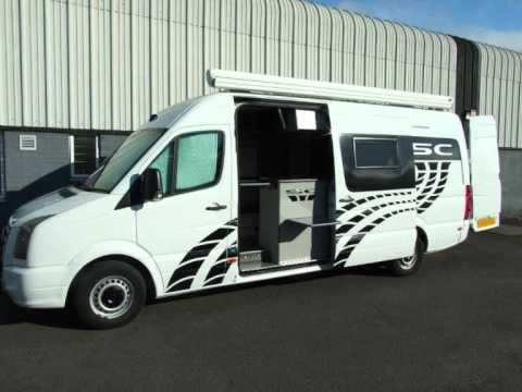 SC Sporthomes Motorhome Racevan Camper Panel Van Conversion VW Or Mercedes