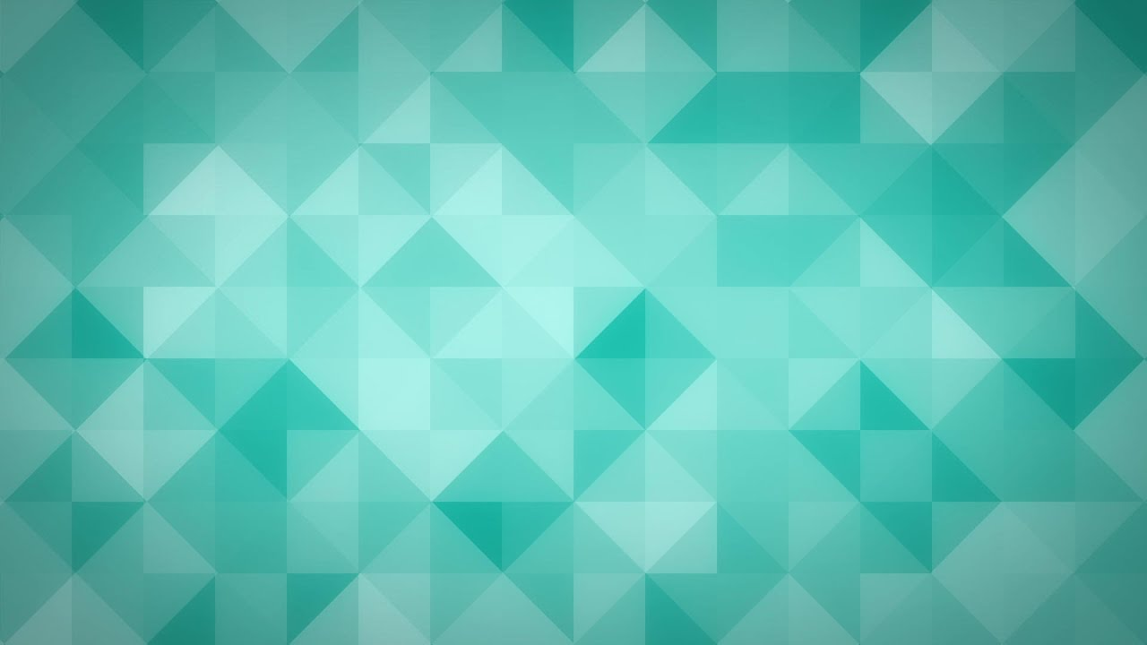 Cyan Triangles HD Video Background Loop YouTube