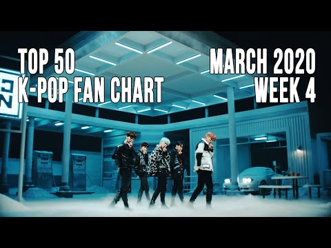 [Top 50] K-Pop Songs Chart - March 2020 Week 4 Fan Chart