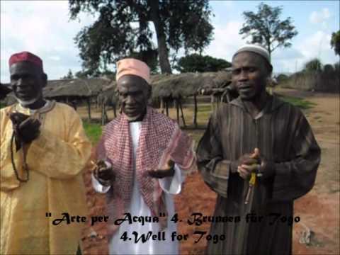 Arte per Acqua (Brunnenbau-Projekt) - 4. Brunnen für Togo