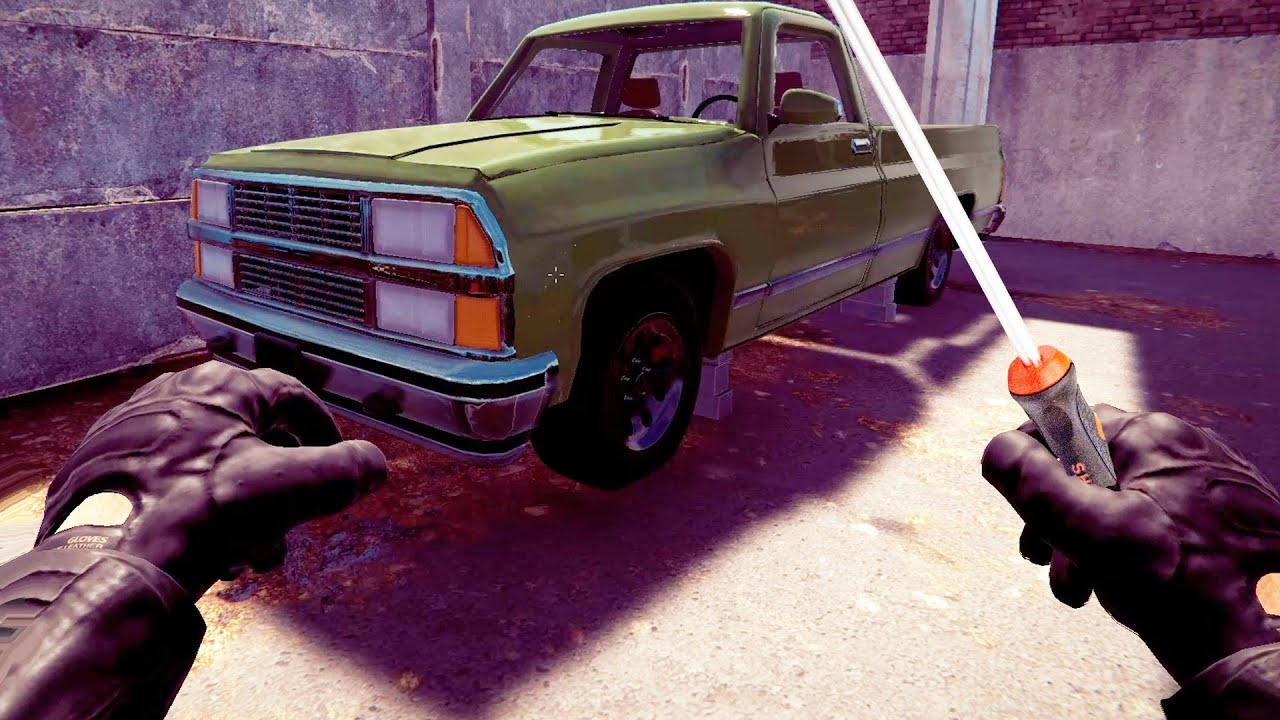 Hot Wiring Cars for Cash - Thief Simulator