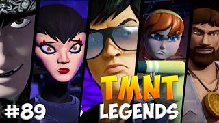 Черепашки-Ниндзя: Легенды. Прохождение #89  HUMAN vs ALL Bosses (TMNT Legends IOS Gameplay 2016