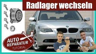 RADLAGER WECHSELN | BMW E60 E61 E90 E91 E65 E63 Hinterachse