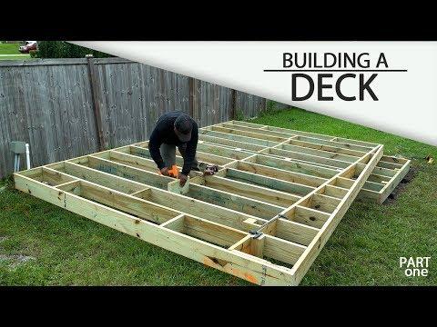 Building A Ground Level DECK - Part 1