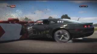 GRID AUTOSPORT - Tuning Crash at 230km/h | 90% Damage | 120+ G Force!