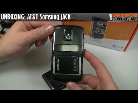 UNBOXING: AT&T Samsung Jack