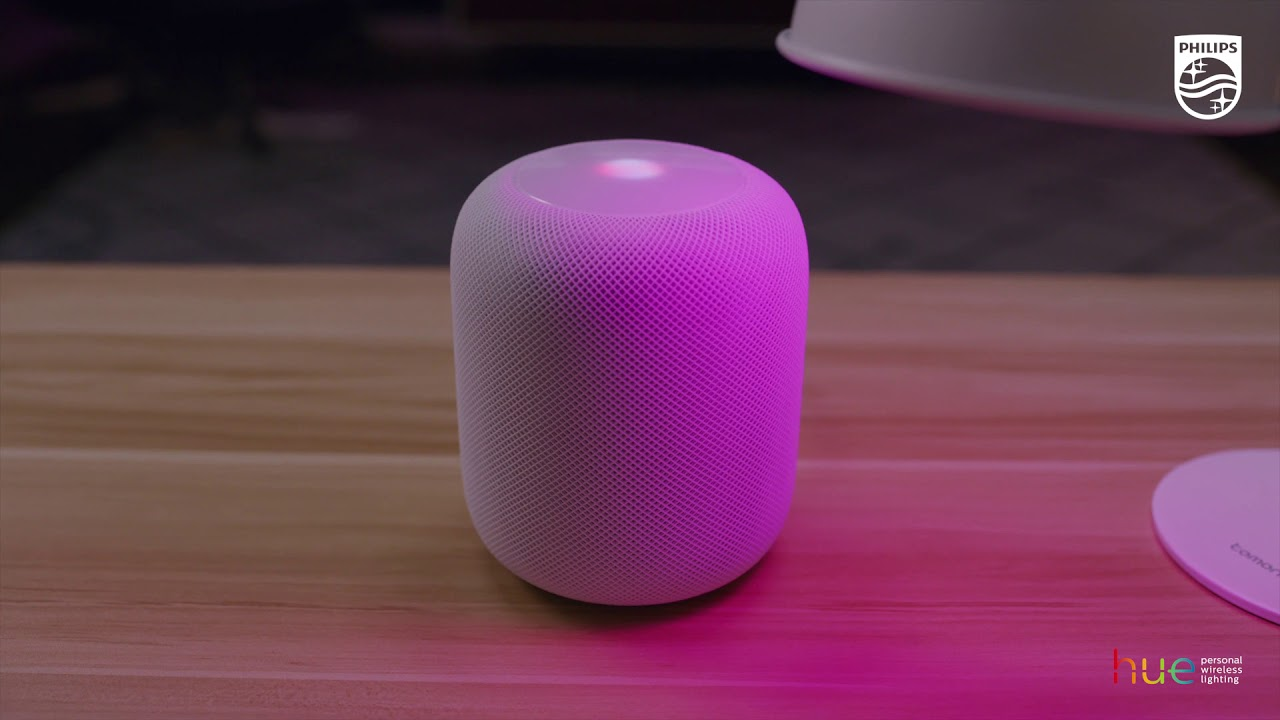 Control your Philips Hue lights with Apple HomePod
