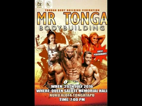 💪🏾  MR TONGA BODYBUILDING COMPETITION