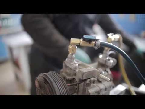 Ремонт компрессора кондиционера Мазда .