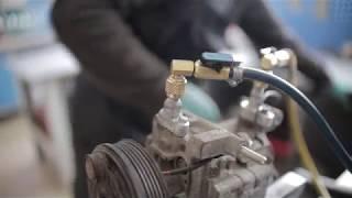 Ремонт компресора кондиціонера Мазда .