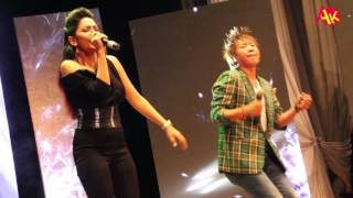 Hot Singer Indhira Joshi and Rajesh Payal Rai Live Singing, Great Performance
