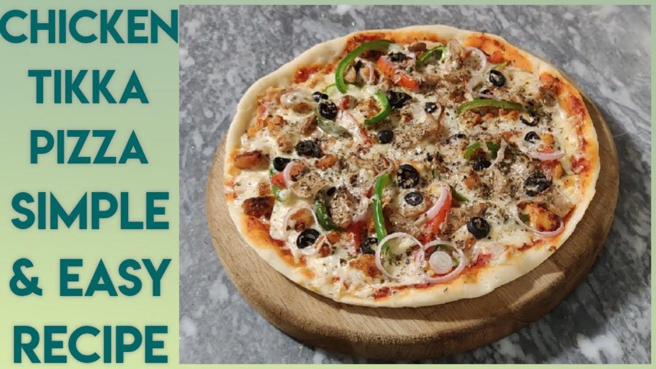 Download Chicken Tikka Pizza Recipe   Pizza Dough   How to make Pizza   Kamran Afzal   Recooking Reviews