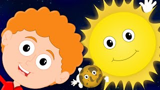 Planets Song | Songs For Kids And Childrens | Nursery Rhymes For Baby