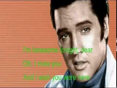 I Miss You lyrics - Elvis Presley - Genius Lyrics