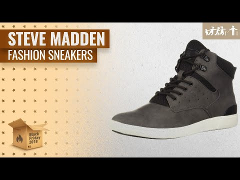 Save Big On Steve Madden Fashion Sneakers Black Friday / Cyber Monday 2018 | US Black Friday 2018