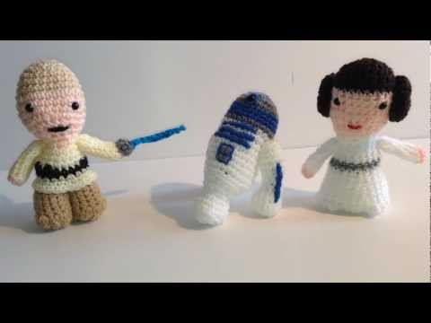 CROCHET PATTERN - Droid R2D2 amigurumi pattern (With images ... | 360x480