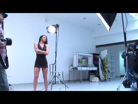 Making of Sensual Photography Session with Nadia B...