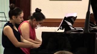 Anita Music and Hana Ljumovic  piano duo