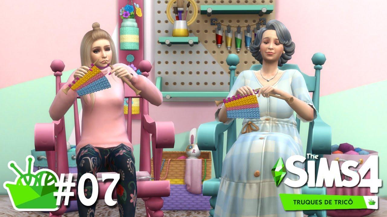 O CLUBE DO TRICÔ #07 - Do Lixo ao Tricô - The Sims 4