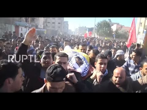State of Palestine: Thousands mourn 30 y/o man killed in clashes with Israeli forces