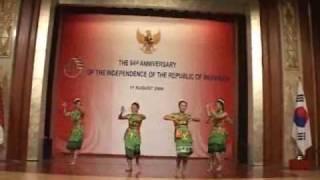 Yapong Dance @KBRI Seoul 090817