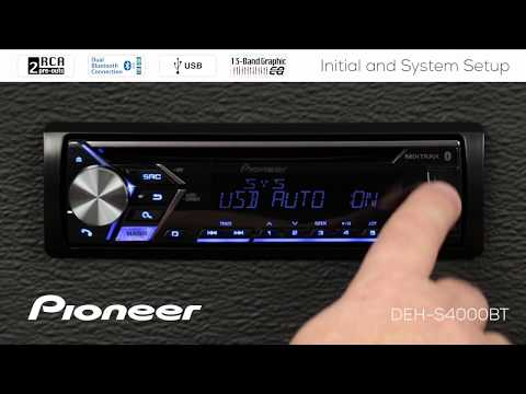 How To - Initial and System Setup on Pioneer In-Dash Receivers 2018