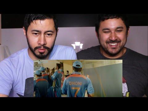 M S DHONI Trailer Reaction