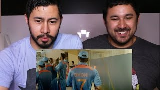 M S DHONI Trailer Reaction