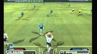 PS2 - Red Card Soccer - World Conquest - Match 2 - England vs Dolphins