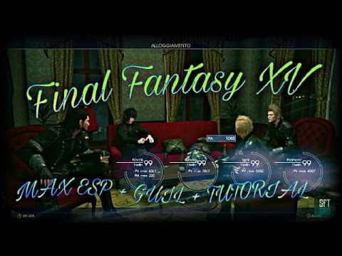 Final Fantasy XV - Tutorial livello 99 1000 PA , 3.000.000 ESP 950.000 GUIL NO GLITCH ITA PS4 XBOX1