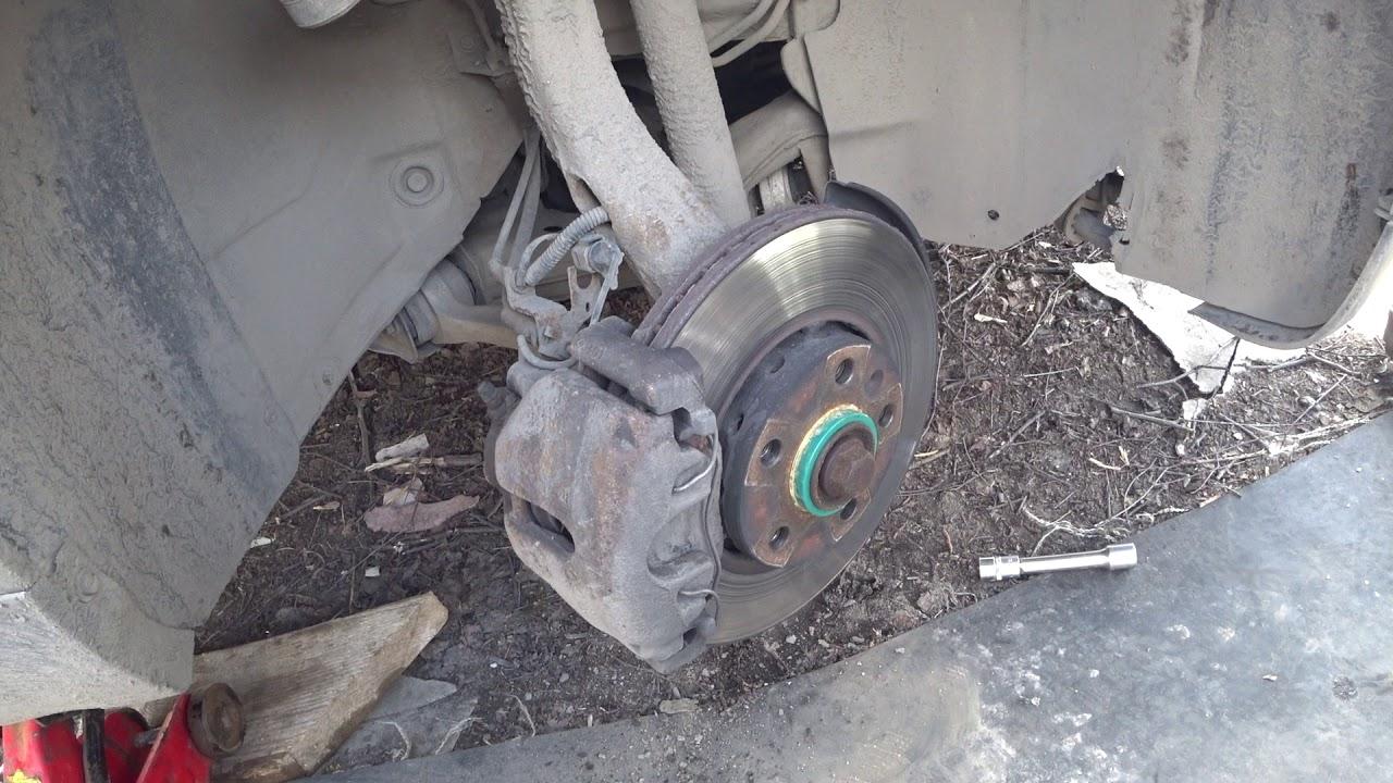 Ремонт суппортов с заменой поршня VW Passat b5, AUDI, SKODA своими руками  Два дня в одном