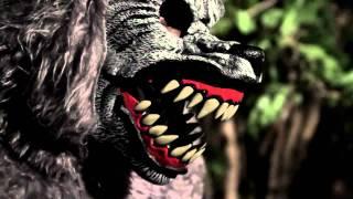 Adult Full Moon Madness Costume Ani-motion Mask Werewolf Halloween Fancy Dress