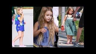David Beckham & Victoria Beckham's Daughter 2018 [ Harper Beckham ]