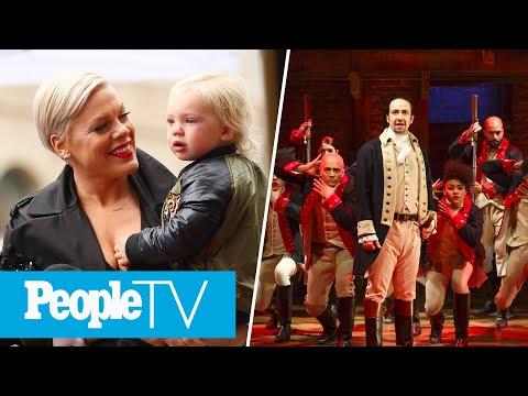 Hamilton Cast Reunites On John Krasinski's Show, Pink Details Coronavirus Symptoms | PeopleTV