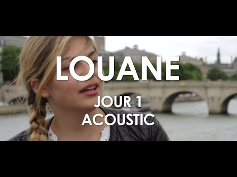 Louane  Jour 1  Acoustic  in Paris