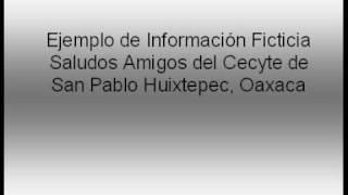 ----PI WI en San Pablo Huixtepec