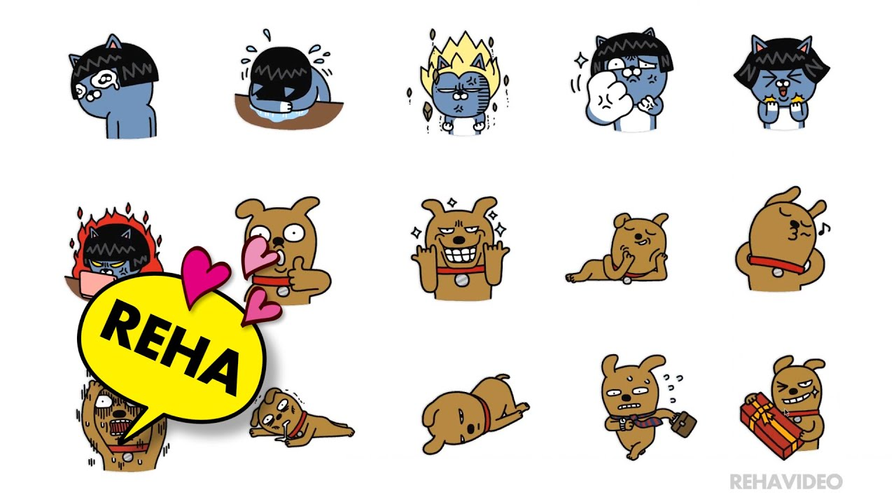 The gallery for --> Kakaotalk Emoticons Frodo And Friends