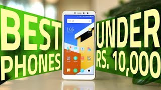 Best Phones Under Rs. 10,000 (November 2018 Edition)