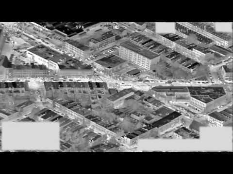 FBI Aerial Surveillance Footage, Freddie Gray Protests in Baltimore, April 29, 2015 Video 01