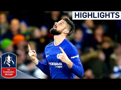 CHELSEA vs HULL CITY ● All Goals & Highlights HD ● 16 Feb 2018 - FA CUP