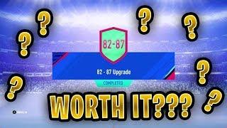 20 X 82-87 PACKS! Cost vs Reward   FIFA 19 Ultimate Team