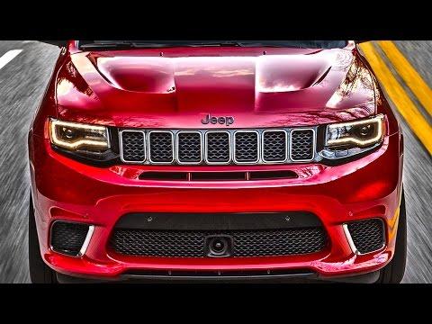 ПЛАЧЬ ЕВРОПА Америка сделала самый быстрый Jeep Гранд Чероки SRT8 Trackhawk Clickoncar news 14