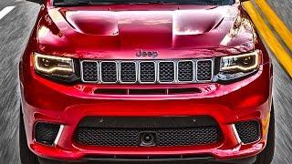 ПЛАЧЬ ЕВРОПА! Америка сделала самый быстрый Jeep Гранд Чероки SRT8 Trackhawk! Clickoncar news #14