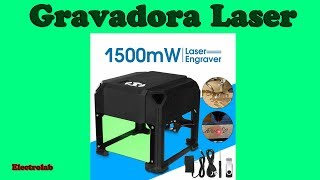 Gravadora laser - Laser Engraver!! Grave em madeira, plástico, couro, etc!!